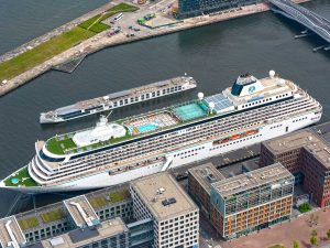 Crystal Serenity and Crystal Bach